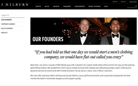 Meet Our Founders | J.Hilburn