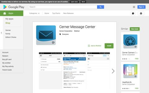 Cerner Message Center - Android Apps on Google Play
