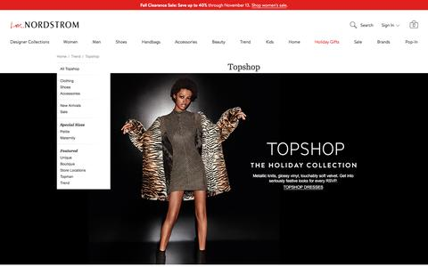 Topshop for Women at Nordstrom