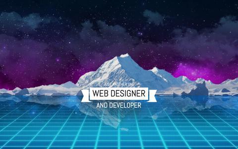 Screenshot of Home Page paul-katz.com - Paul Katz - Web Designer and Developer - captured Jan. 30, 2018