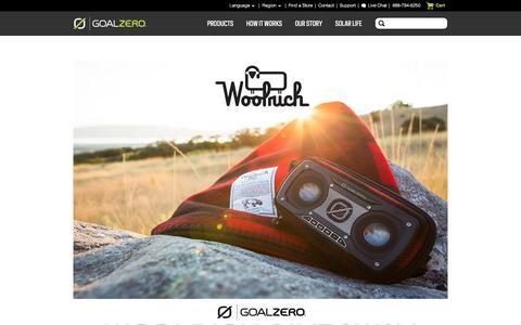 Screenshot of Signup Page goalzero.com - Goal Zero Giveaways - captured Aug. 27, 2016