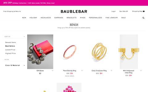 Rings   BaubleBar