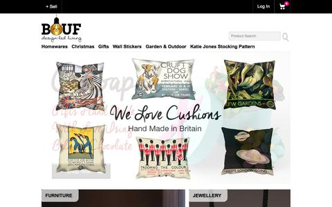 Homeware, Wall Stickers, Lighting & Unique Gifts at BOUF