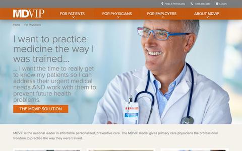Grow Your Private Practice Beyond Concierge Medicine - MDVIP