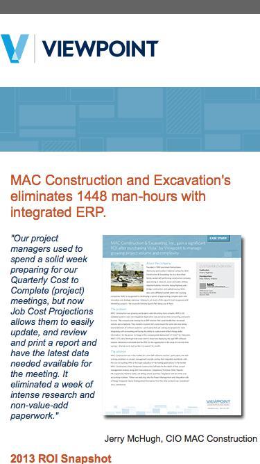 MAC Construction Case Study