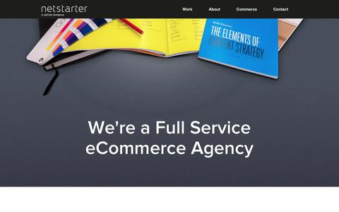 Screenshot of About Page netstarter.com.au - Netstarter | Full service eCommerce agency - captured Aug. 30, 2017