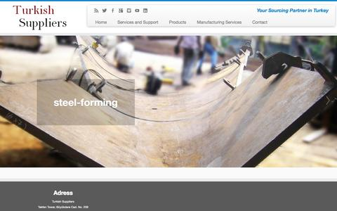 Screenshot of Blog turkish-suppliers.com - Turkish Suppliers and Manufacturing | Your Sourcing Partner in Turkey - captured Sept. 26, 2014