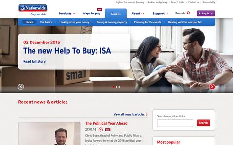 News Hub | Nationwide