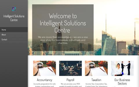 Screenshot of Home Page intelligent-solutions-centre.co.uk - Intelligent Solutions Centre - captured Oct. 12, 2018