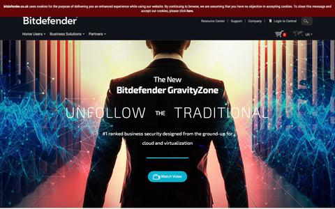 BitDefender Business Solutions List