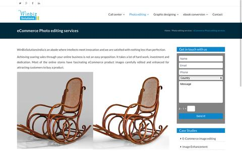 eCommerce Photo editing services|Image clipping|Winbizsolutionsindia