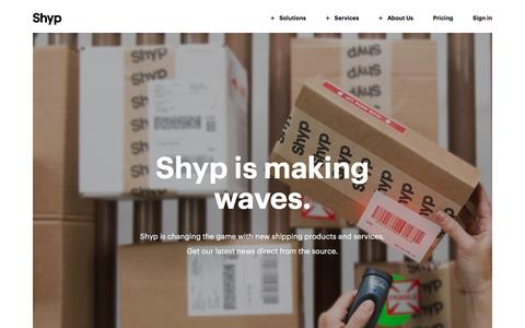 Shyp is Making Waves | Shyp