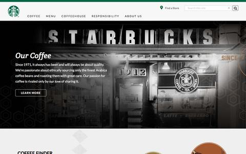 The Best Coffee From | Starbucks Coffee Company