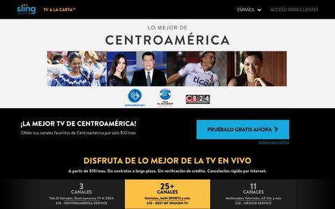 ¡LA MEJOR TV DE CENTROAMÉRICA!