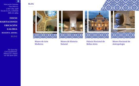 Screenshot of hotelcasagonzalez.com - Hotel Casa González     Blog - captured Sept. 29, 2015