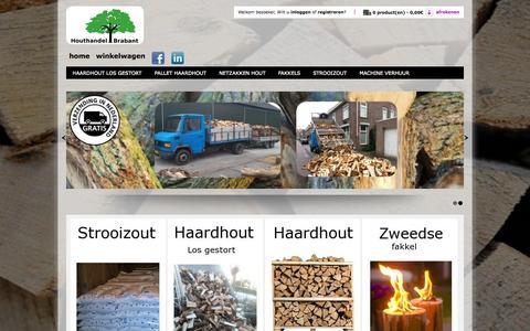 Screenshot of Home Page houthandelbrabant.nl - Houthandelbrabant - captured Sept. 30, 2014