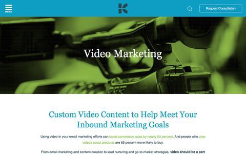 Video Marketing Services | Kuno Creative