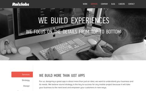 Mobile App Services by Raizlabs