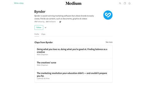Bynder – Medium