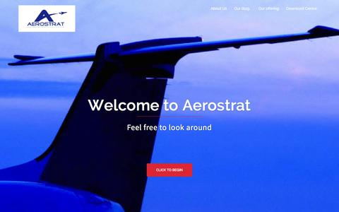 Screenshot of aerostrat.co.uk - Lean Marketing - Aerospace Manufacturing Strategy Support Ltd - captured Feb. 5, 2016