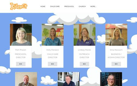 Screenshot of Team Page kidnect.org - leadership - Kidnect Child Development - captured Oct. 15, 2018