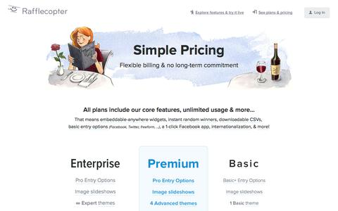 Internet Pricing Pages | Website Inspiration and Examples