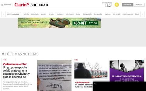 Sociedad | Clarín.com