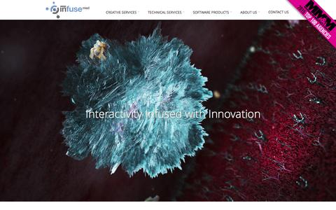 Screenshot of Home Page infusemed.com - Infuse Medical - Digital Agency For Medical Device CompaniesInfuse Medical | Medical Device Digital Marketing Agency - captured Feb. 10, 2016
