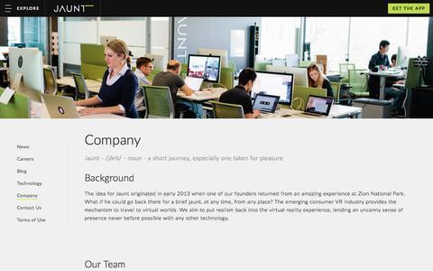 Company - Jaunt