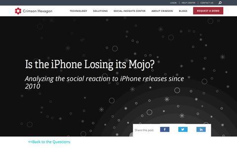 iPhone's Social Reaction Over Time | Analyze Historical Social Data