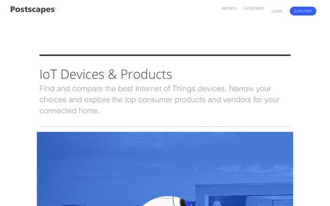 2018 IoT Products | Overview of the Most Popular Smart Home Devices