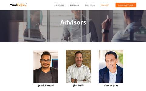 Advisors | MindTickle