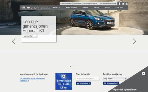 Velkommen til Hyundai | Hyundai