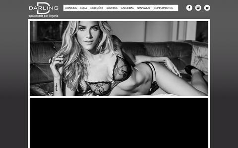 Screenshot of Home Page darlingbrasil.com.br - Darling - captured Sept. 30, 2014