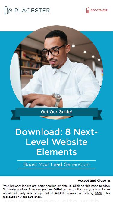 Placester Guide: 8 Essential Real Estate Website Elements