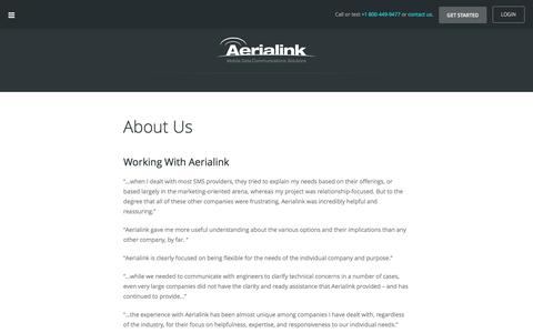 Aerialink About Us