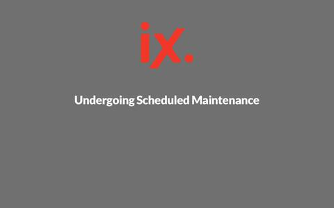 Undergoing Scheduled Maintenance