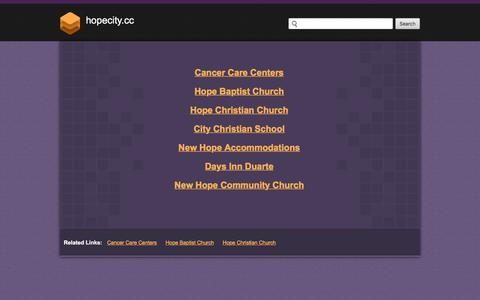 Screenshot of Home Page hopecity.cc - Web hosting provider - Bluehost.com - domain hosting - PHP Hosting - cheap web hosting - Frontpage Hosting E-Commerce Web Hosting Bluehost - captured Oct. 23, 2017