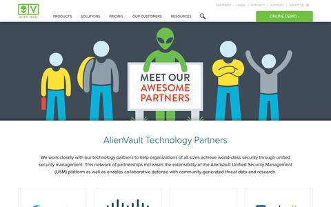 AlienVault Open Threat Exchange™ (OTX) Partners