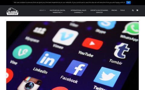 Screenshot of Blog towebornottoweb.com - ToWebOrNotToWeb Blog - ToWebOrNotToWeb - captured Aug. 2, 2018
