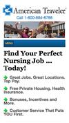 New Landing Page American Traveler Staffing Professionals