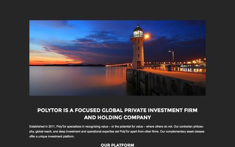 Screenshot of Team Page polytor.com - PolyTor Global - captured Nov. 7, 2016