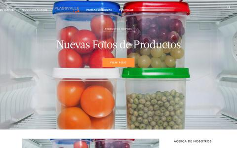 Screenshot of Blog plastivalle.com - Plastivalle, Fabrica de envases plasticos | - captured Sept. 21, 2018