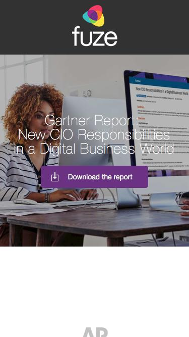 Gartner CIO Report | Fuze