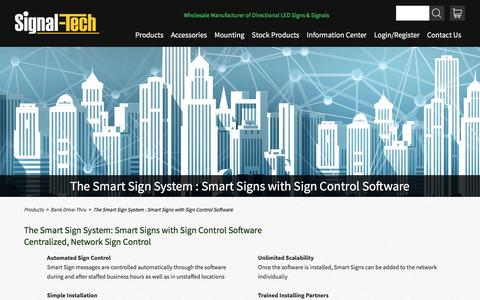 Sign Control Software | Signal-Tech