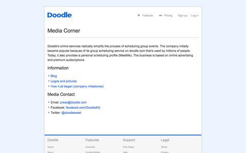 Media Corner | Doodle