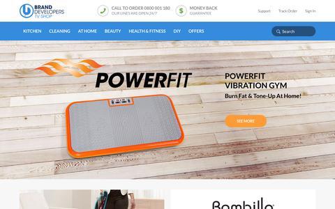 Screenshot of Home Page branddevelopers.co.nz - Brand Developers TV Shop NZ | Shop the Official Home Shopping Website - captured Nov. 23, 2016