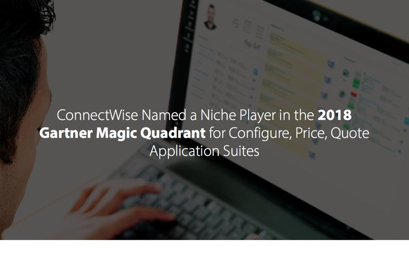 ConnectWise Named a Niche Player by Gartner
