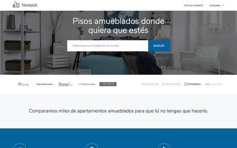 Pisos amueblados y habitaciones - Busca, Compara y Alquila   Nestpick