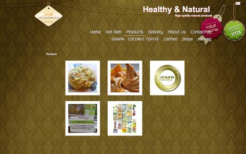 Screenshot of Products Page growasia.co.th - Healthy & Natural - captured Sept. 30, 2014